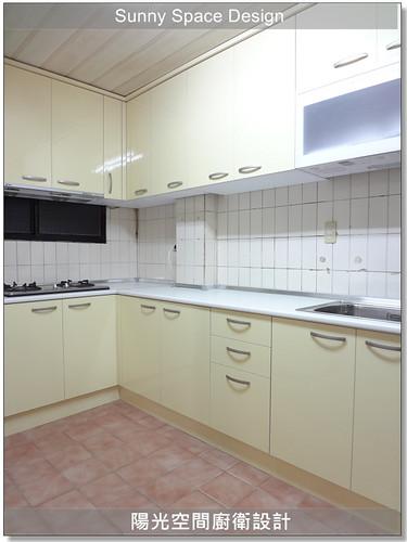 廚具-民生東路張先生L型廚具-陽光空間廚衛設計8