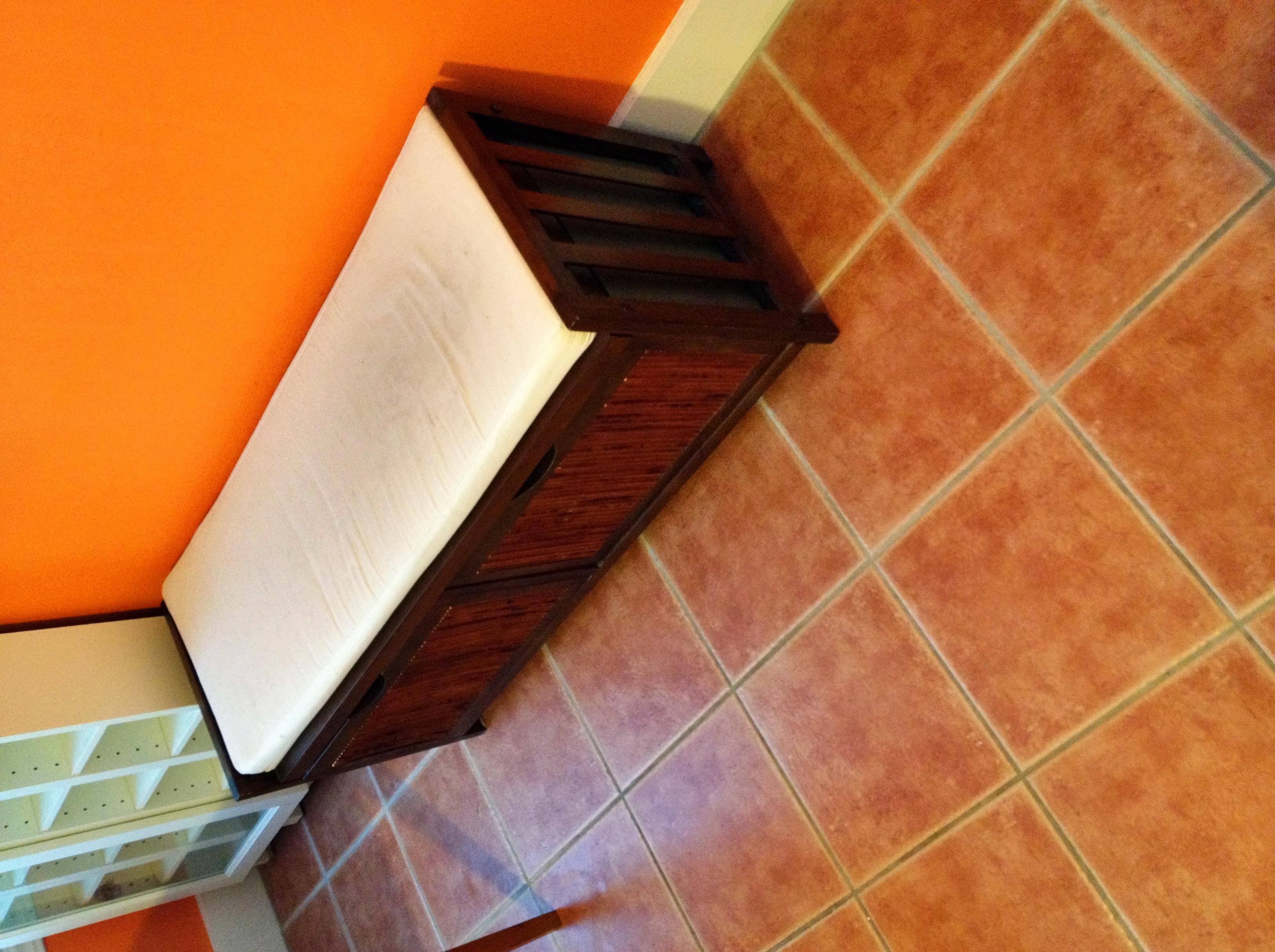 Storage Shelf White Cushion 15 Sold