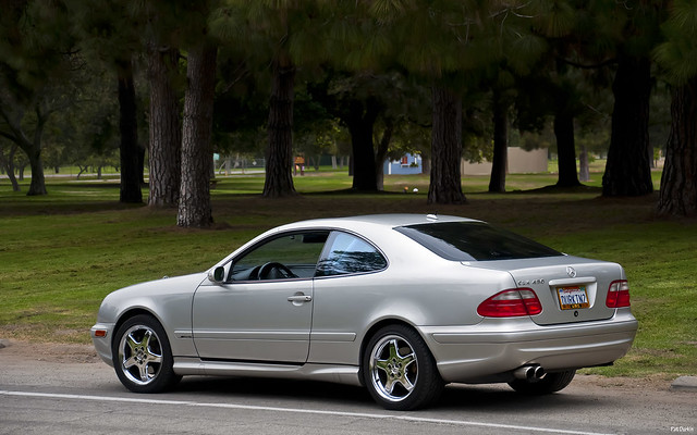 2002 mercedes benz clk430 amg coupe silver rvl 005. Black Bedroom Furniture Sets. Home Design Ideas
