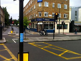 Crossing from Regents Park Road to Crogsland Road