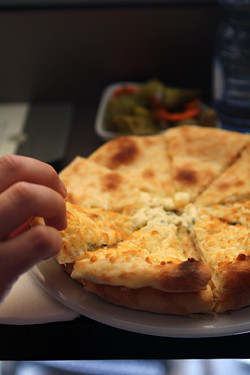 Georgian cheese bread
