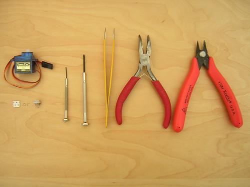 Servo 1 - Tools