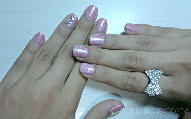 Pretty Pink Manicure (2)