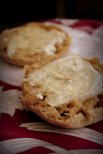 20120714. Rosemary jam and cream cheese - OMGYUM.