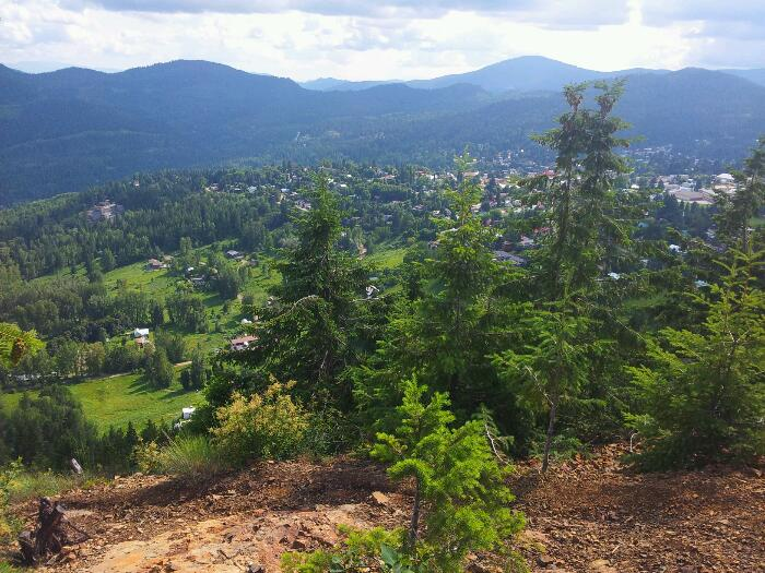Start of KC Ridge trail