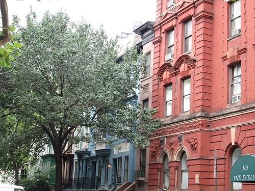 78st & Columbus Ave., NYC. Nueva York