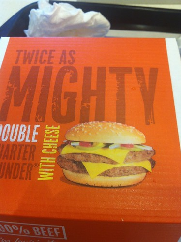 Double Quarter Pounder 2