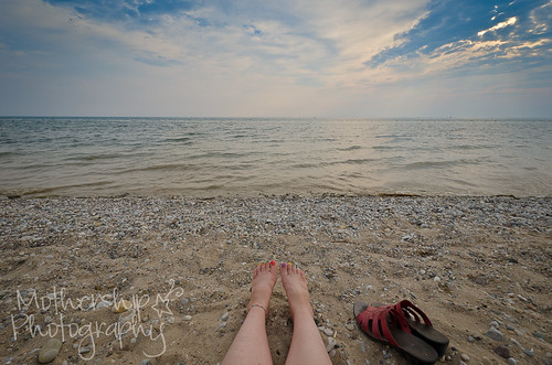 Sunset on Lake Huron - #fromwhereistand