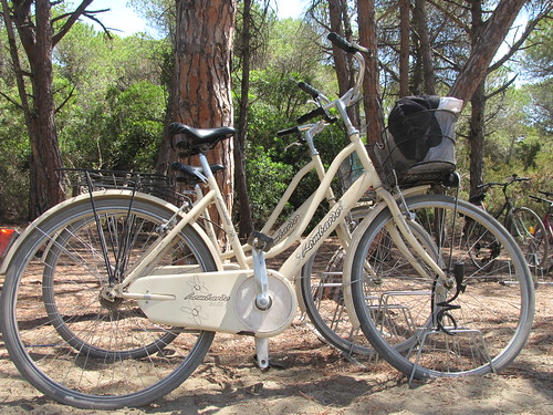 Bicicleta em Ansedonia