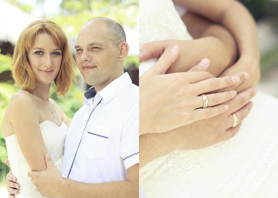 Cebu Post-Wedding Session, Russian Couple