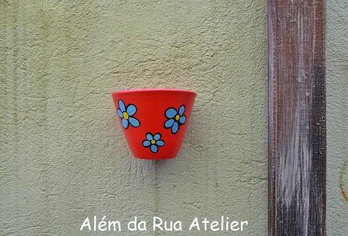 Vaso pintado à mão
