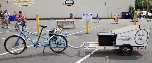 "Chris Sanderson's ""Builder by Bike"" setup"
