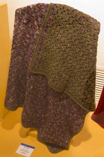Reversible Crochet Afghan