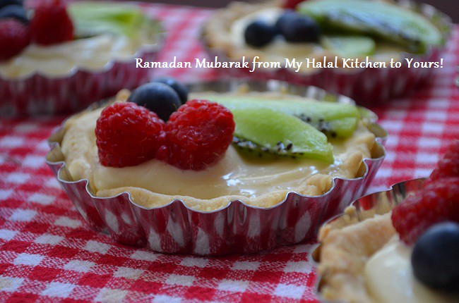 Fruit Tarts with Lemon Cream Filling- MHK Ramadan Greeting