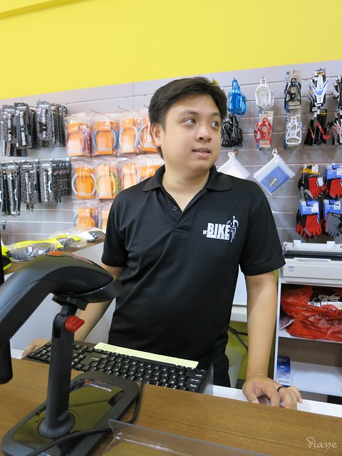 Staff in MyBikeShop Too