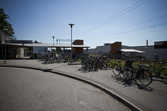 Bromölla Train Station Bicycle Parking