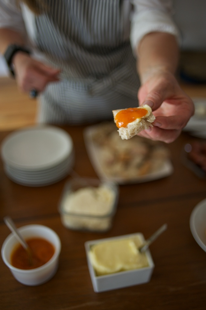 Preserves on Cheese