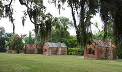 Boone Hall Original Slave Cabins