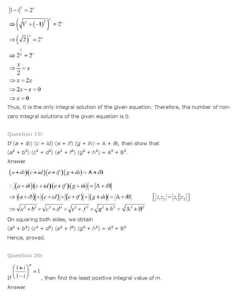 Ncert solutions for class 11th maths chapter 5 complex numbers and ncert solutions for class 11th maths pdf download mathematics fandeluxe Choice Image