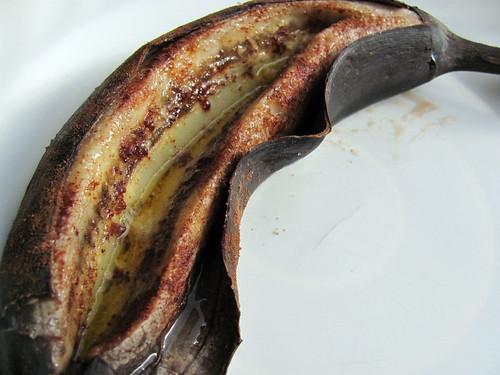 Baked Cinnamon Bananas