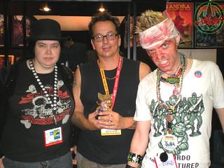 "San Diego Comic-Con 2012; HEAVT METAL BOOTH /   Miki Ivey, Kevin Eastman, tOkKa & tOkKustom :: ""OLD HOB"" TRIKKY"