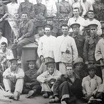 Detail: No. 2 Australian General Hospital / Mena House / Egypt. The first batch of wounded Australian soldiers from Gallipoli / May 1915