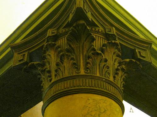 A Corinthian Column in the Palais Theatre Foyer – Lower Esplanade, St Kilda