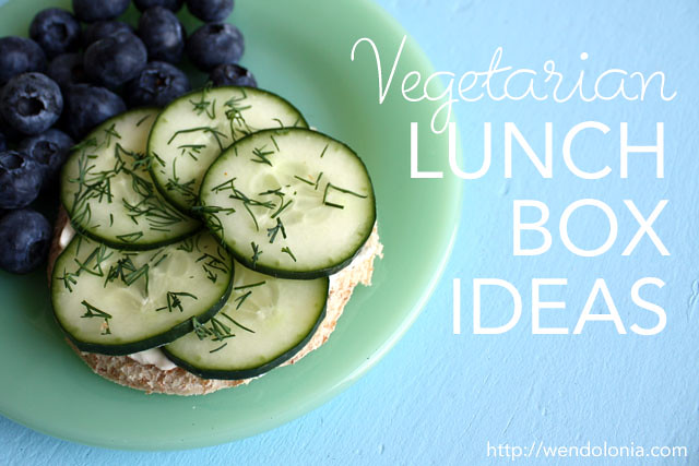 10 Vegetarian Lunch Ideas. If you're interested in eating vegetarian, lunch is one of the best places to start. Each one of these vegetarian lunch boxes includes a protein-packed main (see: How much protein do you need anyway?) and an assortment of fruits, veggies, and snacks, meaning they'll keep you full throughout the afternoon.