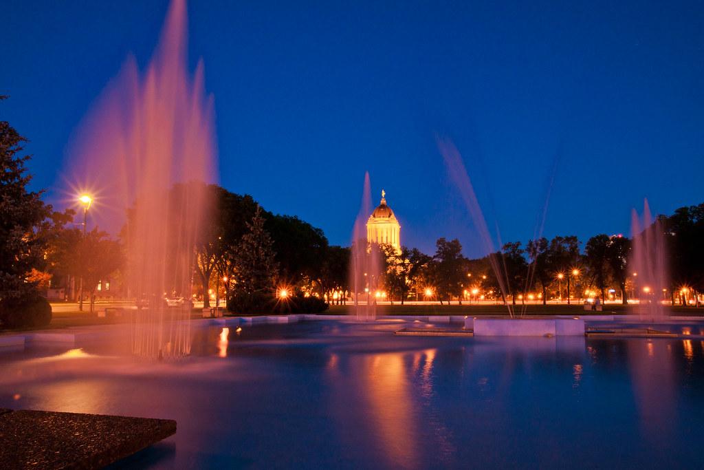 Memorial Park Fountain