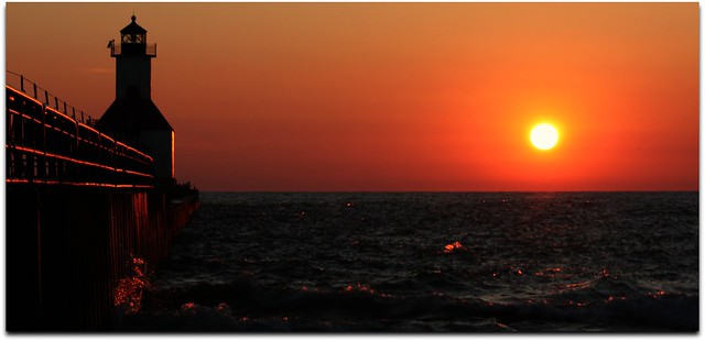 Sunset at St. Joseph Beach