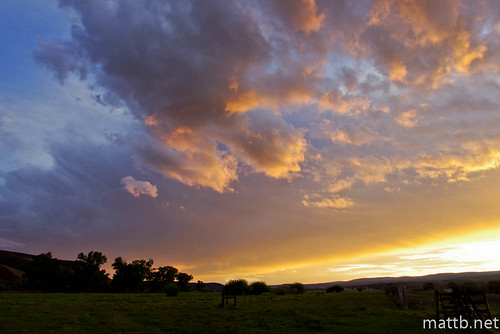light sunset sky storm clouds contrast dark colorado gunnison