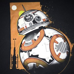 Todays #tshirt from yesterday too busy to post. #bb8 #starwars #theforceawakens