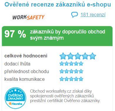 Hodnocení e-shopu worksafety.cz
