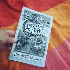 #herbalists from #orlandocares asked if this was a #grrrlzinesagogo #zine because a bunch were sent to them. Couldn't take credit but glad to hear an example of the power of #zines