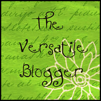 Versatile Blogger Award by It's Great To Be Home