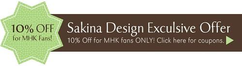 Sakina Design MHK Discount