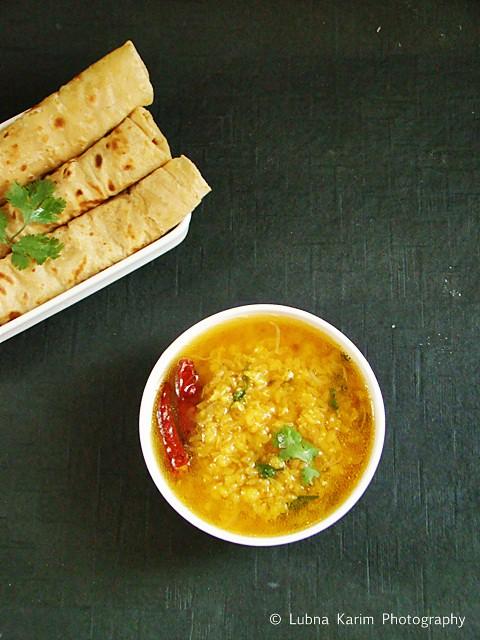 Dal and Roti