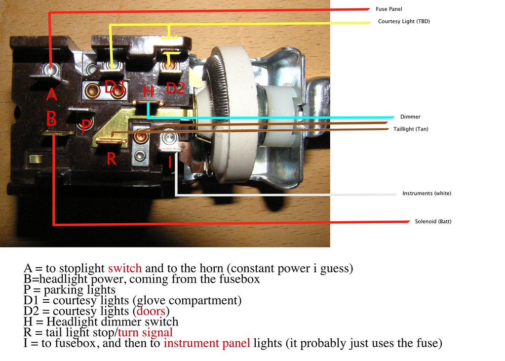 6980531114_57034f6175_b anyone care to validate my mustang headlight switch wiring wiring diagram for headlight switch at edmiracle.co