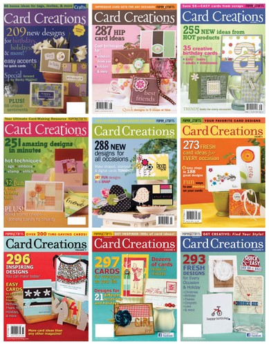 6996542660 59ae905bdb Card Creations: Volume 10   a lot of history!