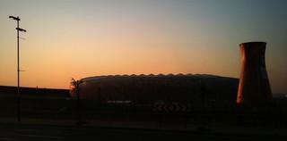Soccer City sunrise