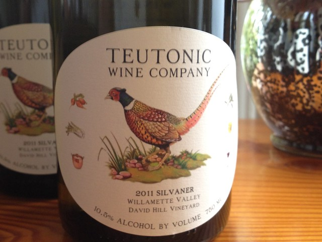 Teutonic Wine Company Silvaner Oregon