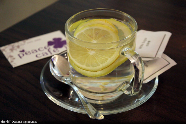 Peace Cafe - Lemon Water