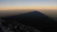 Shadow of Mt Taranaki