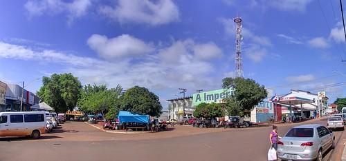 Panorama of Praça Duque de Caxias
