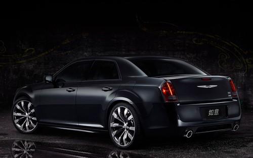 Chrysler Returns to China with 300C Luxury and Ruyi Design Concept