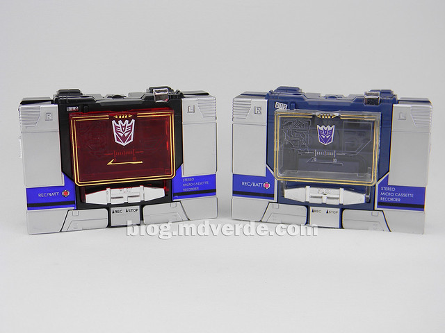 Transformers Soundblaster - G1 Encore - modo alterno vs Soundwave