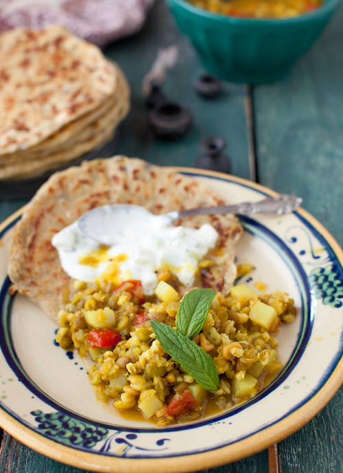 Lentils and Chapattis 8