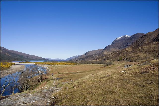 Approaching Loch Maree