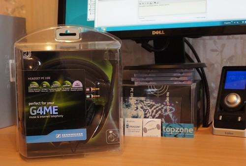 Sennheiser PC 330 G4ME žaidimų ausinės su mikrofonu