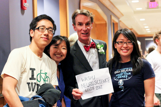 i met bill nye the science guy